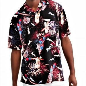 EXCLUSIVE Men's Love Your Cat 4th of July Shirt